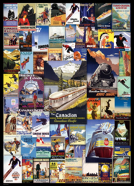 Eurographics 0648 - Railroad Adventures  - 1000 stukjes