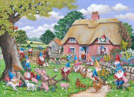 House of Puzzles - Gnome Farm - 500XL stukjes