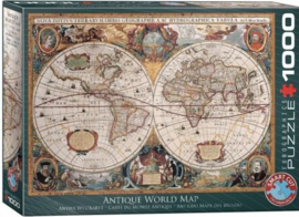 Eurogaphics 1997 - Orbis Geographica World Map - 1000 stukjes