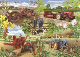 House of Puzzles - Farming Year -1000 stukjes