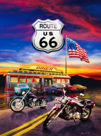 SunsOut 37122 - Route 66 Diner - 1000 stukjes