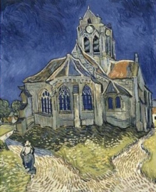 D-Toys Vincent van Gogh - The Church at Auvers - 1000 stukjes