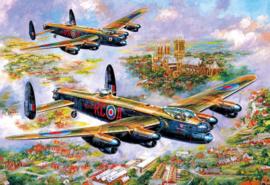Gibsons 3113 - Lancasters over Lincoln - 500 stukjes  OP=OP