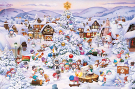 Piatnik - Kerstkoor - 1000 stukjes