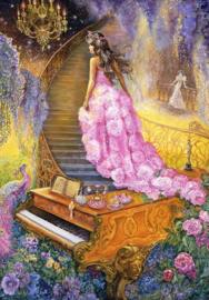 Grafika Josephine Wall - Melody in Pink - 1000 stukjes