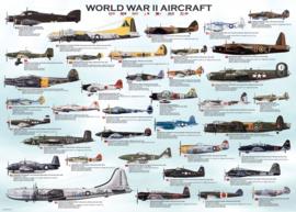 Eurographics 0075 - World War II Aircraft  - 1000 stukjes