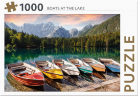 Rebo - Boats at the Lake - 1000 stukjes