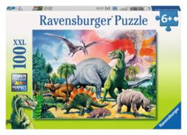 Ravensburger - Tussen de Dino's - 100XXL stukjes