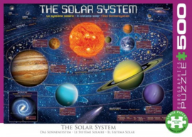 Eurographics 5369 - Solar System Puzzle - 500XL stukjes