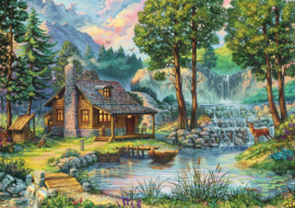 Art Puzzle -  Fairytale House - 1000 stukjes