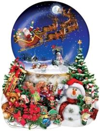 SunsOut 95302  Santas Snowride  1000 stukjes  Vormpuzzel