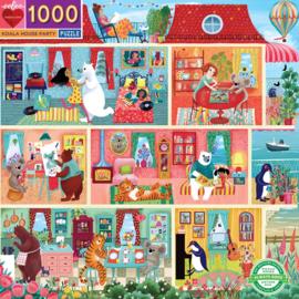 eeBoo - Koala House Party - 1000 stukjes
