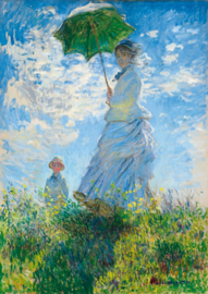 Bleubird Claude Monet - Woman With a Parasol - 1000 stukjes