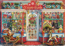 Gibsons 6328 - Christmas Emporium - 1000 stukjes