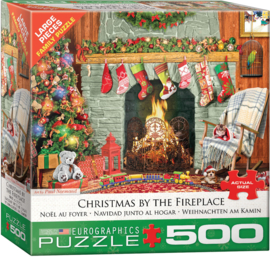 Eurographics 5502 - Christmas by the Fireplace - 500XL stukjes