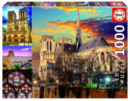 Educa - Collage Notre Dame - 1000 stukjes