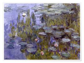 Londji Claude Monet - Nymheas - 150 Micro stukjes