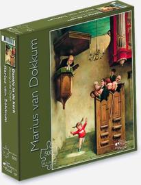 Art Revisited Marius van Dokkum - Dansje in de Kerk - 500 stukjes
