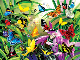 SunsOut 34867 - Tropical Butterflies - 1000 stukjes