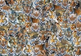 Otter House - Impossibble Puzzel-Tigers - 500 stukjes
