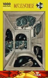 Puzzelman M.C. Escher - Andere Wereld - 1000 stukjes