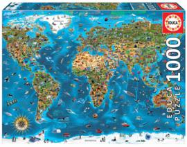 Educa - Werelds Mooiste - 1000 stukjes