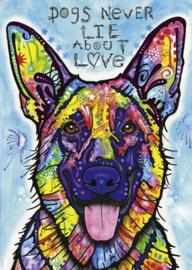 Heye - Dogs Never Lie About Love - 1000 stukjes