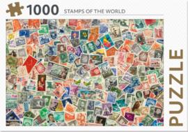 Rebo - Stamps of the World - 1000 stukjes