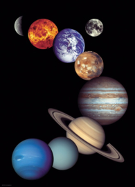 Eurographics 0100 - NASA The Solar System - 1000 stukjes