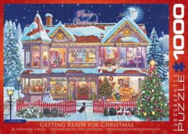Eurographics 0973 - Gettin Ready for Christmas - 1000 stukjes