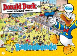Just Games Disney Donald Duck 3 - Ballenbende - 1000 stukjes