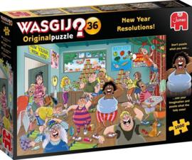 wasgij Original 36 - Goede Voornemens - 1000 stukjes