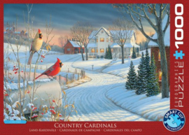 Eurographics 0981 - Country Cardinals - 1000 stukjes