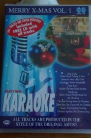 Karaoke  dvd+cd Merry X-mas  deel 1.