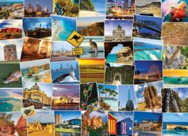 Eurographics 0753 - Australia-Globetrotter - 1000 stukjes