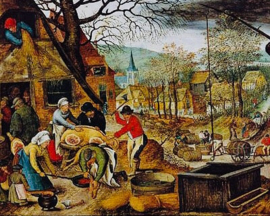 D-Toys Pieter Brueghel - Herfst - 1000 stukjes