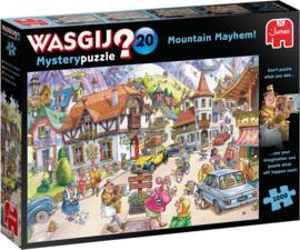 Wasgij Mystery 20 - Vakantie in de Bergen - 1000 stukjes