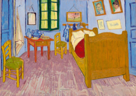 Bluebird Vincent van Gogh - Bedroom in Arlas - 1000 stukjes