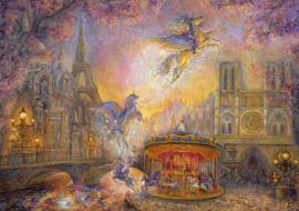 Grafika Josephine Wall - Magical Merry Go Round - 1500 stukjes
