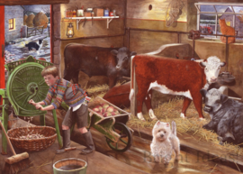 House of Puzzles - Winter Feeding - 500 stukjes