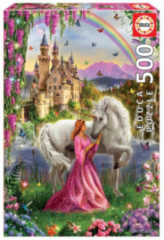 Educa - Fairy and Unicorn - 500 stukjes