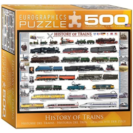Eurographics 0251 - History of Trains  - 500XL stukjes