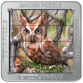 TFF 3D Magna Puzzle Small - Owls - 16 stukjes