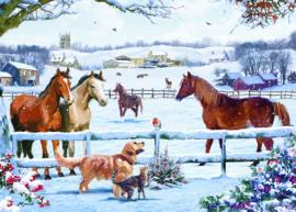 Otter House - Christmas on the Farm - 1000  stukjes