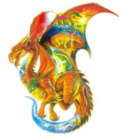 SunsOut 90165 - Dragon Dreams - 1000 stukjes   Vormpuzzel
