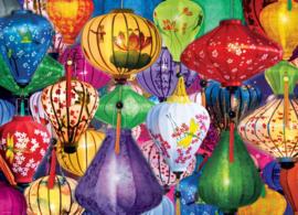 Eurographics 5469 - Asian Lanterns - 1000 stukjes