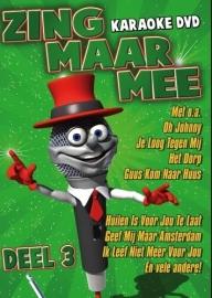 Zing Maar Mee Karaoke dvd deel 3