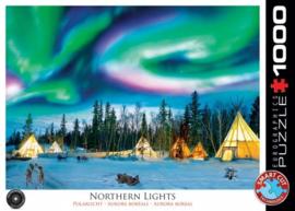 Eurographics 5435 - Northern Lights, Yellowknife - 1000 stukjes