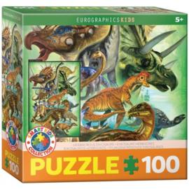 Eurographics 0360 - Herbivorous Dinosaurs - 100XXL stukjes