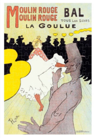 Londji Henri de Toulouse-Lautrec - Moulin Rouge: La Goulue - 150 Micro stukjes